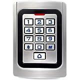 Retekess K10EM-W Access Control Keypad Waterproof Wiegand 26 PIN Code RFID Keypad IP68 Waterpfoof Access Control 2000 Users k