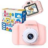 [Amazon限定ブランド] ピントキッズ トイカメラ キッズカメラ 安全ストラップ付 ベビーピンク