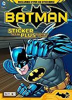 (Sticker Scene Coloring & Activity) - Batman Sticker Scene Plus Book to Colour