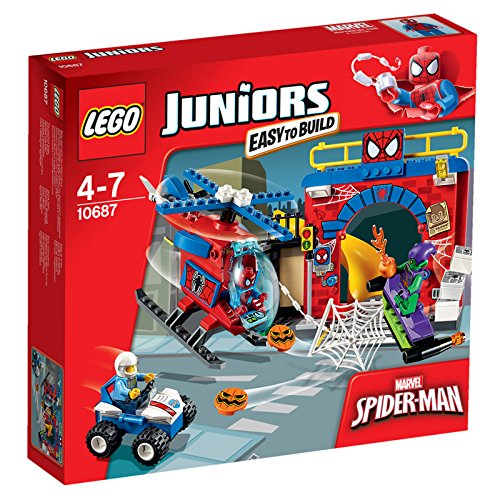 レゴ (LEGO) ジュニア スパイダーマンの隠れ家 10687