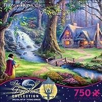 トーマス・キンケード ディズニー ドリームコレクション 「Snow White Discovers the Cottage」750ピースパズル