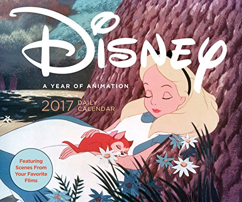 Disney 2017 Daily Calendar: A Year of Animation (Calendars 2017)