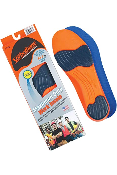 Sorbothane Ultra Graphite Arch Insole