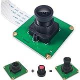 InnoMaker Raspberry Pi Camera Module 5MP 1080P OV5647 Sensor with M12 FOV90 IR Filter LEN For Raspberry Pi 4, Pi 3 B+, Pi 3,