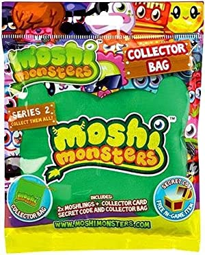 Moshi Monsters Moshling Collector's Bag Contains 2 Moshlings - Various Colours [並行輸入品]