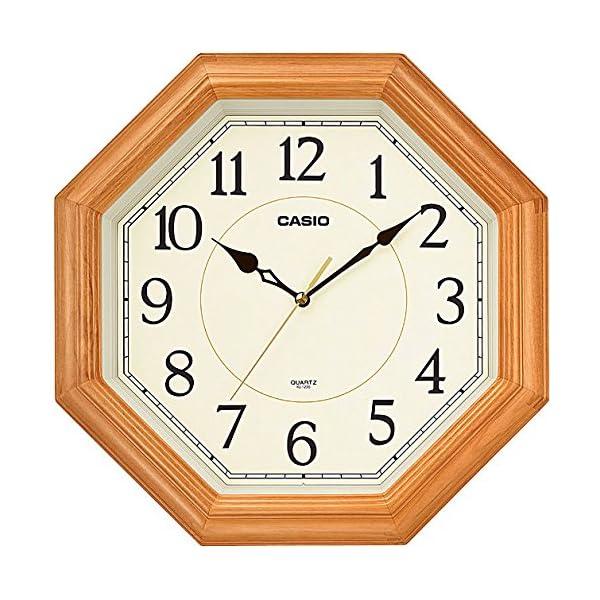 カシオ アナログ掛時計 スムーズ運針 IQ-12...の商品画像