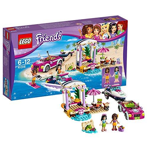 レゴ(LEGO)フレンズ ハートレイクのビーチバカンス 41316