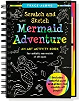 Mermaid Adventure Scratch and Sketch: An Art Activity Book for Artistic Mermaids of All Ages