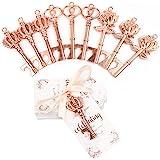 OurWarm 30pcs Wedding Favors Skeleton Key Bottle Opener with Tag, Vintage Skeleton Keys for Guests Wedding Birthday Bridal Sh
