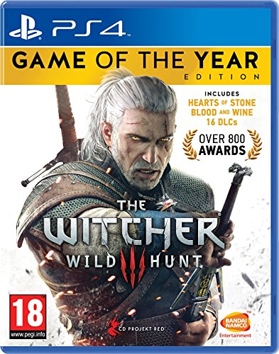 Namco Entertainment The Witcher 3 Game of the Year Edition PS4 輸入版