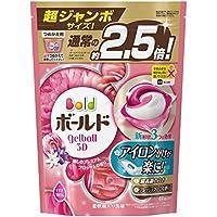 ボールド 洗濯洗剤 ジェルボール3D 癒しのプレミアムブロッサムの香り 詰め替え 超ジャンボ 44個入
