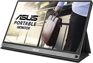 ASUS モバイルディスプレイ MB16AP 15.6インチモニター(バッテリー搭載/IPS/1,920×1,080/ブルーライト軽減/USB Type-C/フリッカーフリー)