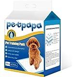 Petpapa 50 pcs Puppy Pet Dog Indoor Cat Toilet Training Pads Super Absorbent 60x60cm