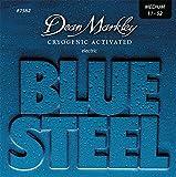 Dean Markley -ディーンマークレイ- エレクトリックギター弦 Blue Steel Electric -Nickel Plated MED 011-052 x 1セット #2562