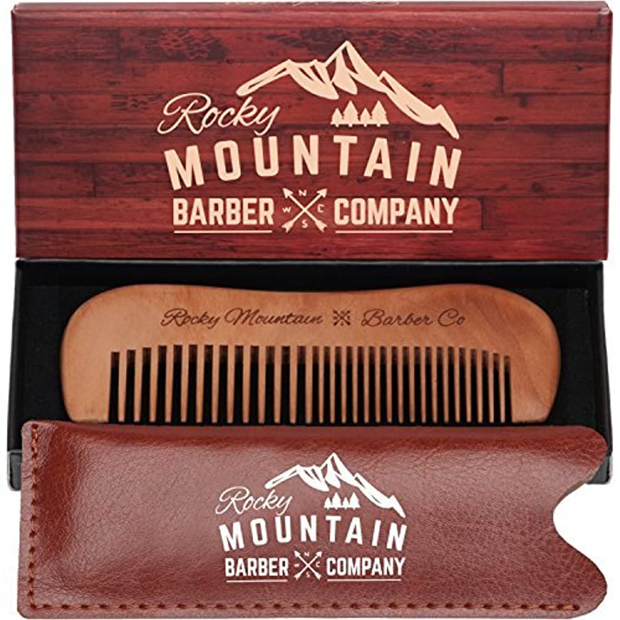 効率的不倫憂鬱なTravel Hair Comb - Travel Size Comb with Fine and Medium Tooth for Mustache, Beard and Hair With Pocket Carrying...