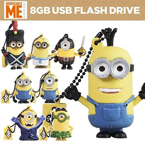 USBメモリ 8GB 怪盗グルー ミニオンズ