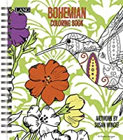LangボヘミアンColoring Book by Susan Winget (1020101 )