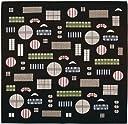 宮本 風呂敷 『おかみさんの小風呂敷』 格子窓 6323 50×50cm