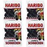 ドイツの輸入菓子 ハリボーのグミ ぐるぐるシュネッケン 4個セット