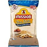 Mission Deli Style Strips, White Corn Chips, 500 g