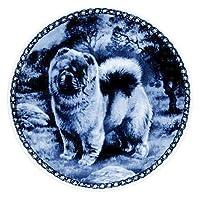 デンマーク製 ドッグ・プレート (犬の絵皿) 直輸入! Chow Chow / チャウチャウ