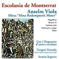 "Anselm Viola Missa ""Alma Redemptoris Mater"""