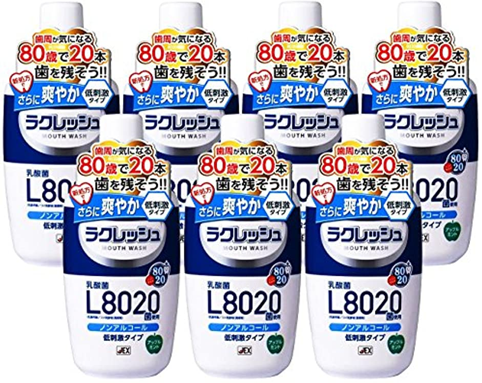 着服二度カウンターパート【7個セット】ラクレッシュ L8020菌 マウスウォッシュ