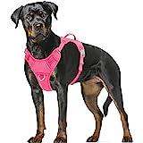 BARKBAY Dog Harness No Pull Dog Harness Adjustable Outdoor Dog Vest 3M Reflective Air mesh Soft Vest Front/Back Leash Clips w