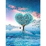 CAOBAO クロスステッチキット ダイヤモンドの絵画 ダイヤモンド塗装 ダイヤモンドアート 全面貼り付けタイプ ビーズアート 5D モザイクアート ハンドメイド DIY 手芸キット 30x40cm 番号 0360
