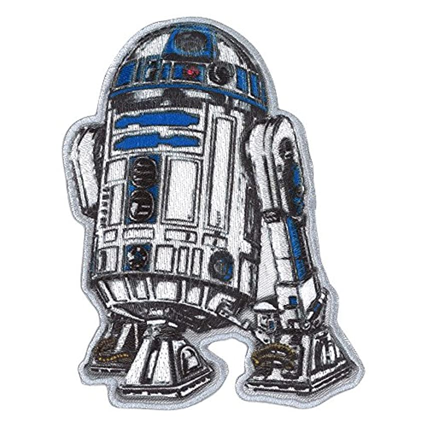 経営者ギャップ荒涼としたミノダ STAR WARSワッペン R2-D2 D01Y0559