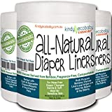 Bamboo Nappy Liners Wipes 660 sheets, Multi-purpose, Eco Friendly environmentally safe, Flushable, Biodegradable