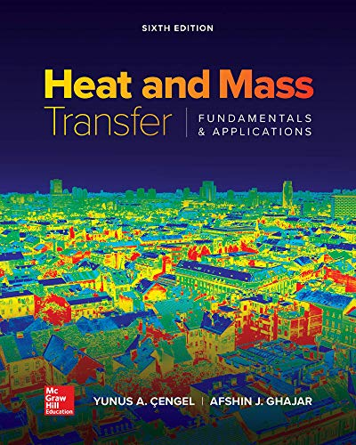 Download Loose Leaf for Heat and Mass Transfer: Fundamentals and Applications 1260440028
