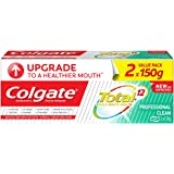 Colgate Total Professional Clean Gel Antibacterial Toothpaste Valuepack 150g x 2