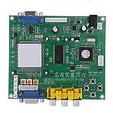 GBS8200 ビデオコンバーター,SODIAL(R) GBS8200 1チャンネルリレーモジュールボード CGA / EGA / YUV / RGB -VGAアーケードゲームのビデオコンバーター