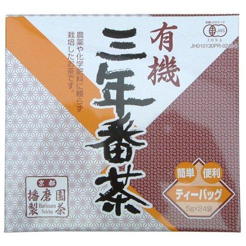 播磨園 有機 三年番茶 ティーバッグ 5g×24P