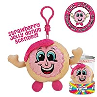 Whiffer Sniffers Phil O' Jelly Donut Scented Backpack Clip