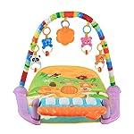 F Fityle Baby Brain Develop Skill Play Musical Activity Mat Kick Piano Light & Sound