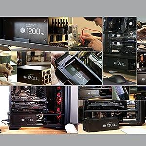 CoolerMaster 国産 80 Plus Titanium認証 1200W ATX電源ユニット MasterWatt Maker 1200 MIJ (型番:MPZ-C002-AFBAT-JP)