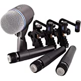 Shure DMK57-52 Drum Microphone Kit, 4 Piece