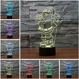 Lightess 3d IllusionライトLEDランプ 4181748