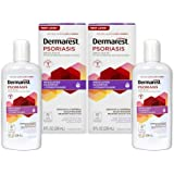 Dermarest Psoriasis Medicated Shampoo and Conditioner, Unscented, 8 Fl Oz (Pack of 2)