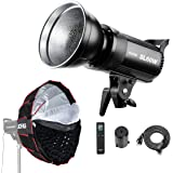 Godox SL-60W 60W CRI95+ Qa>90 5600±300K Bowens Mount High Power Led Continuous Video Light with Large-Sized LCD Panel - Wirel