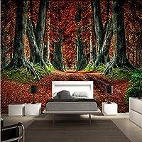 Xueshao カスタム壁紙高精細マングローブ森林景観装飾背景寝室テレビ壁紙壁画-120X100Cm