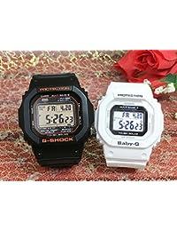 カシオCASIO 腕時計 G-SHOCK ペアウォッチ 純正ペアケース入り ジーショック&ベビージー 2本セット GW-M5610R-1JF BGD-5000-7JF
