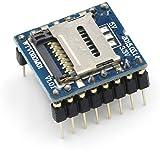 HiLetgo WTV020-SD U Disk Audio Player MP3 Sound Module Voice Module with SD Card Slot UART 232 for Arduino