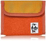 [チャムス] 財布 Trifold Wallet・Sweat Nylon CH60-0696-D009-00 D009 ヘザースパイスオレンジ