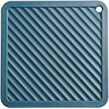 RUUIPON Silicone Trivet Mat, 3 Sets Multi-Use Insulated Flexible Durable Heat Resistant Non Slip Coasters for Kitchen Cooking