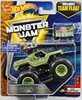 Hot Wheels Monster Jam 1:64 Scale Truck with Team Flag - Soldier Fortune [並行輸入品]