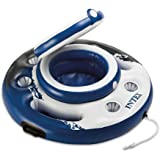 "Intex 56822EP Mega Chill, Inflatable Floating Cooler, 35"" Diameter,Blue"