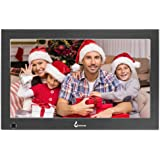 BSIMB 13.3 Inch Digital Picture Frame Digital Photo Frame 1920x1080(16:9) IPS Display Widescreen with Motion Sensor and Remot